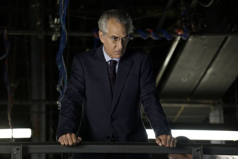 """THE BLACKLIST -- """"Sir Crispin Crandall"""" Episode 306 -- Pictured: David Strathairn as The Director -- (Photo by: Peter Kramer/NBC)"""