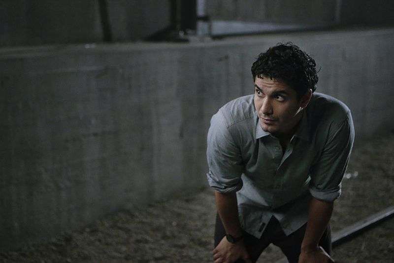 """Crazy Train"" -- Team Scorpion must stop a sabotaged runaway subway train with Paige and Ralph on board. Also, in his attempt to impress Happy, Toby has his first boxing match, on SCORPION, Monday, Nov. 2 (9:00-9:59 PM, ET/PT) on the CBS Television Network. Pictured: Elyes Gabel as Walter O'Brien. Photo: Sonja Flemming/CBS ©2015 CBS Broadcasting, Inc. All Rights Reserved"