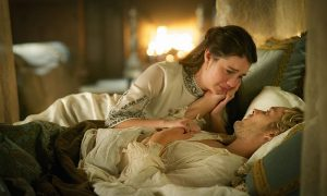 """Reign -- """"The Price"""" Pictured (L-R): Adelaide Kane as Mary, Queen of Scotland and France and Toby Regbo as King Francis II -- Photo: Sven Frenzel/The CW"""