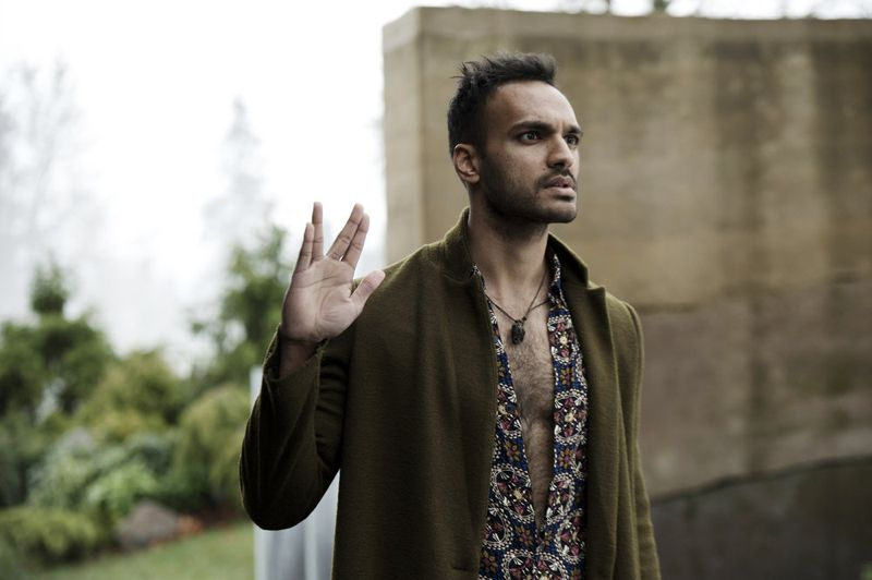 """THE MAGICIANS -- """"Homecoming"""" Episode 110 -- Pictured: Arjun Gupta as Penny -- (Photo by: Carole Segal/Syfy)"""