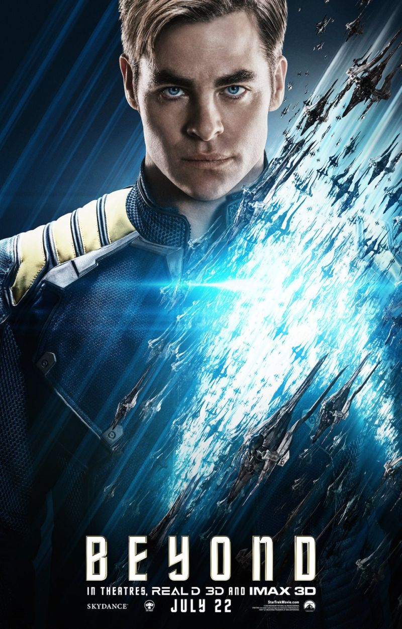 Star Trek Beyond Poster Captain Kirk