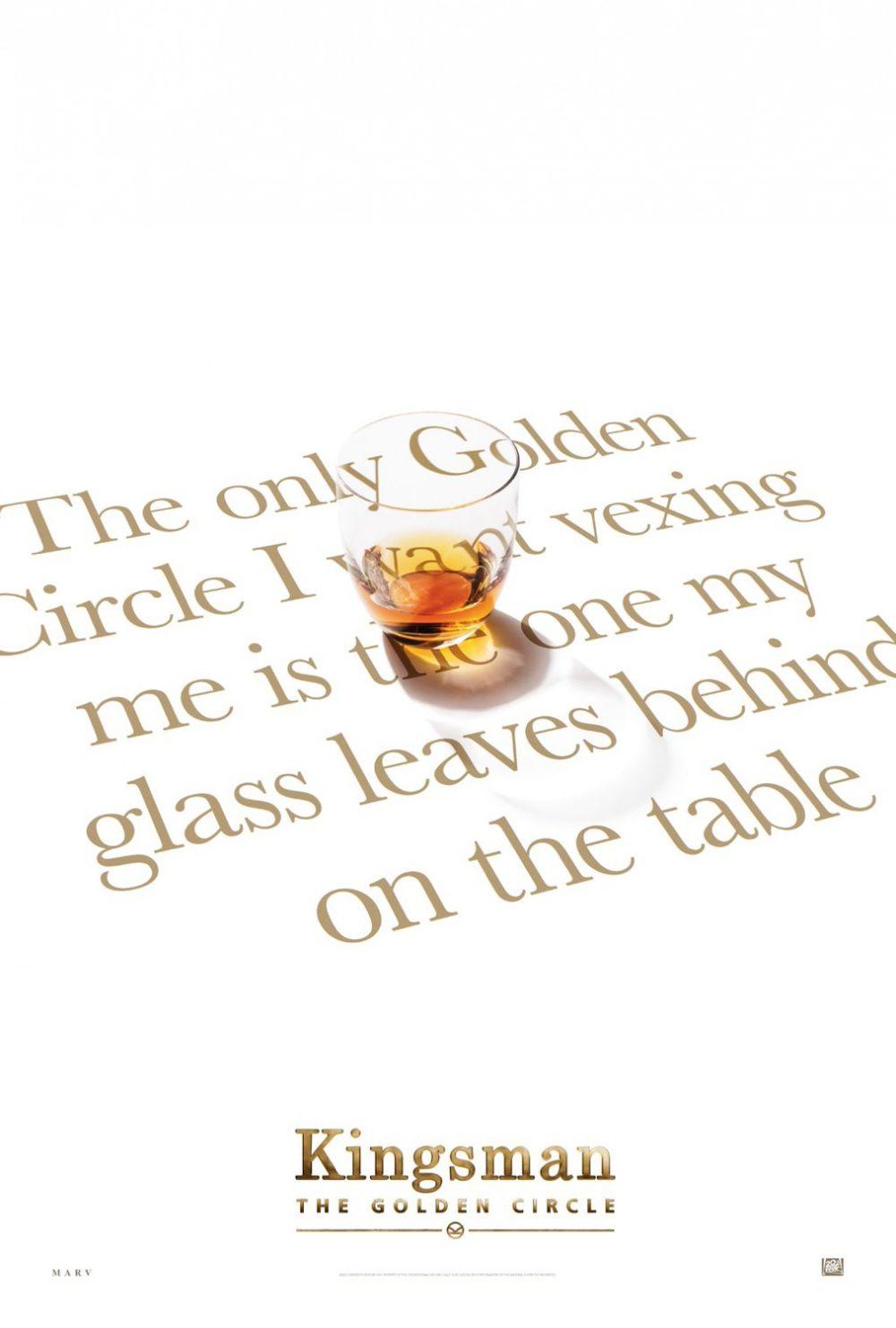 KINGSMAN THE GOLDEN CIRCLE Poster 3
