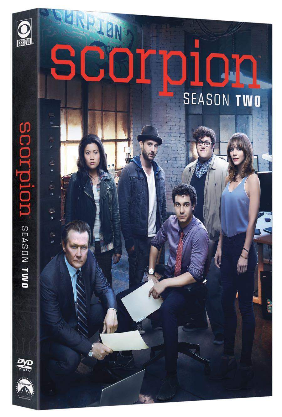 SCORPION Season Two DVD