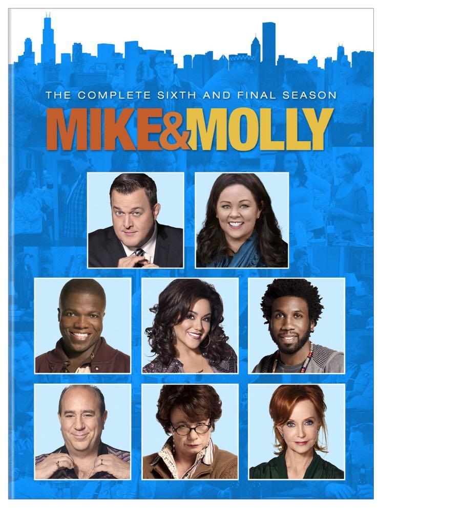 MIKE & MOLLY Season 6 DVD