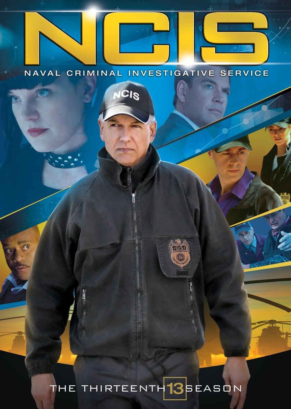 NCIS Season 13 DVD Cover