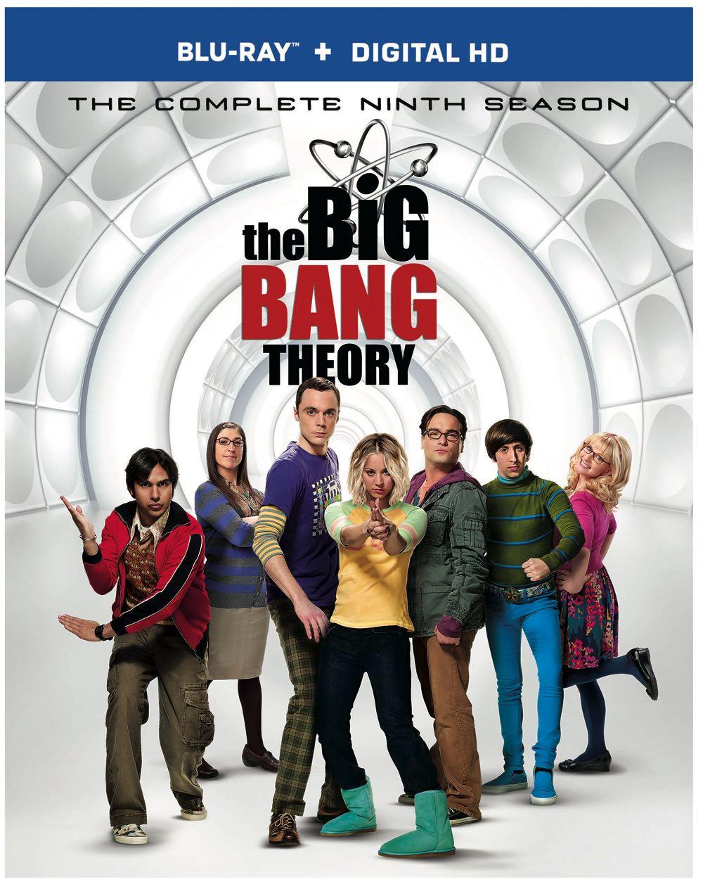 The Big Bang Theory Season 9 Bluray