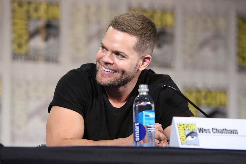 "COMIC-CON INTERNATIONAL: SAN DIEGO -- ""The Expanse Panel"" -- Pictured: Wes Chatham -- (Photo by: Evans Vestal Ward/Syfy)"