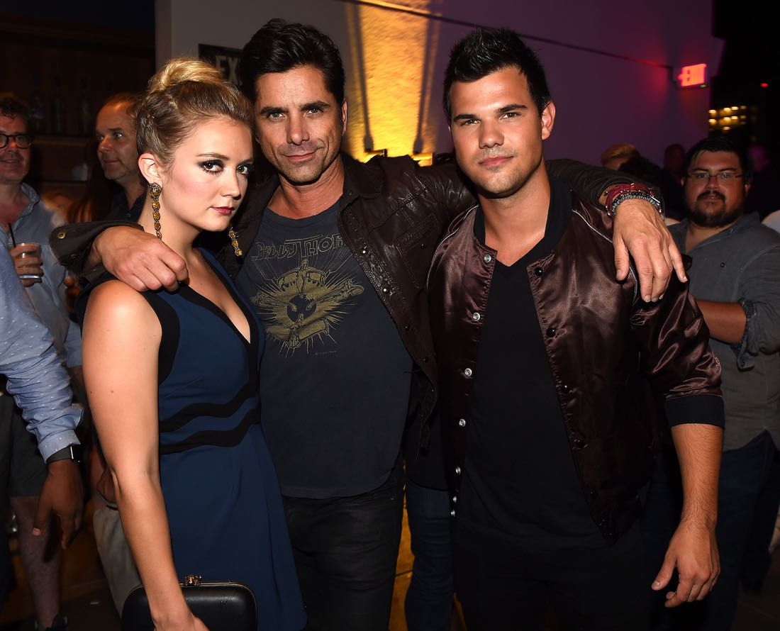 FOX FANFARE ALL-STAR COMIC CON PARTY AT SAN DIEGO COMIC-CON © 2016: Billie Lourd, John Stamos, Taylor Lautner, and Abigail Breslin attend the FOX FANFARE ALL-STAR COMIC CON PARTY AT SAN DIEGO COMIC-CON © 2016 on Friday, July 22 at the Andaz Hotel in San Diego, CA. CR: Frank Micelotta/FOX © 2016 FOX BROADCASTING