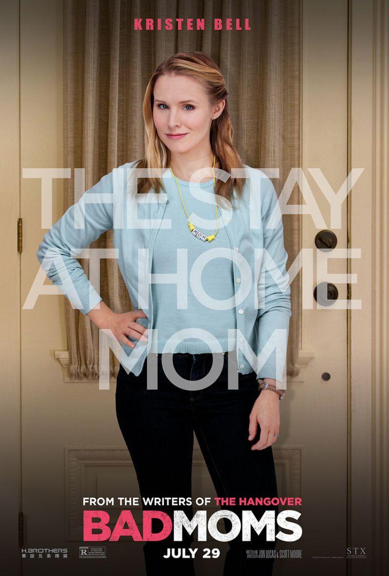 Bad Moms Poster Jada Kristen Bell