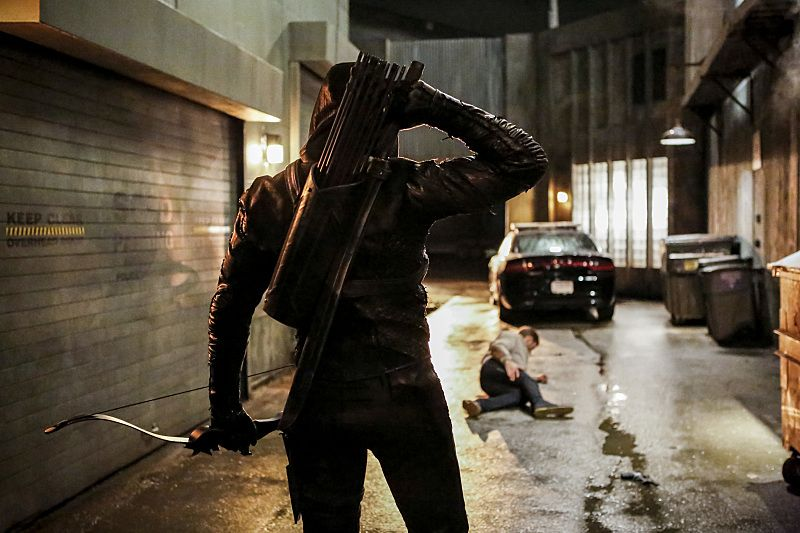 "Arrow -- ""Legacy"" -- Image AR501a_0035b --- Pictured: Prometheus -- Photo: Bettina Strauss/The CW -- © 2016 The CW Network, LLC. All Rights Reserved."