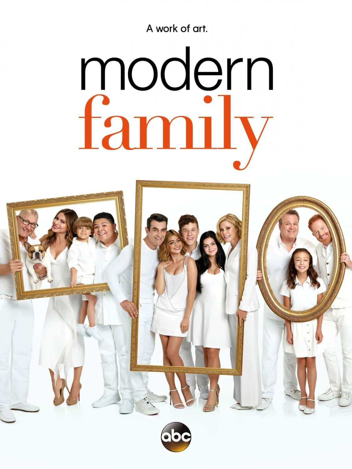 MODERN FAMILY Season 8 Poster