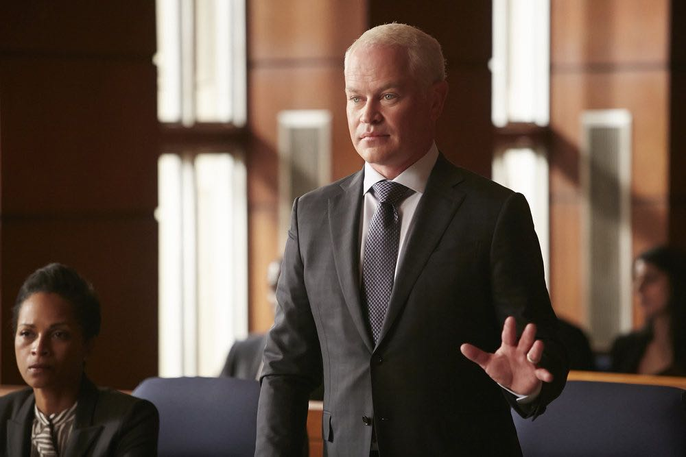 "SUITS -- ""Trust"" Episode 605 -- Pictured: Neal McDonough as Sean Cahill -- (Photo by: Ian Watson/USA Network)"
