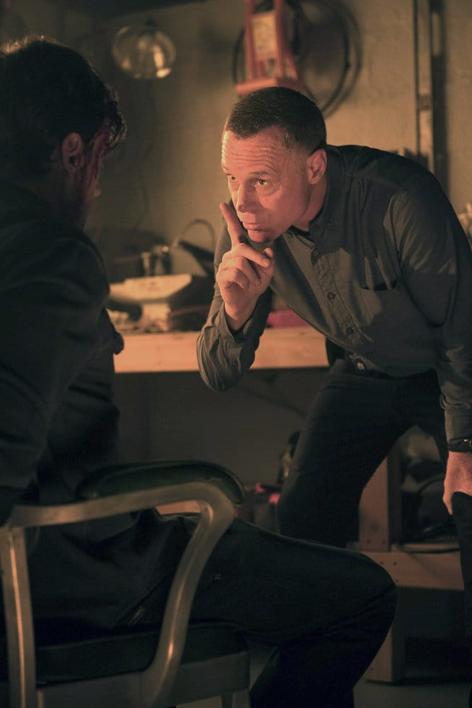 "CHICAGO P.D. -- ""All Cylinders Firing"" Episode 403 -- Pictured: Jason Beghe as Hank Voight -- (Photo by: Jean Whiteside/NBC)"
