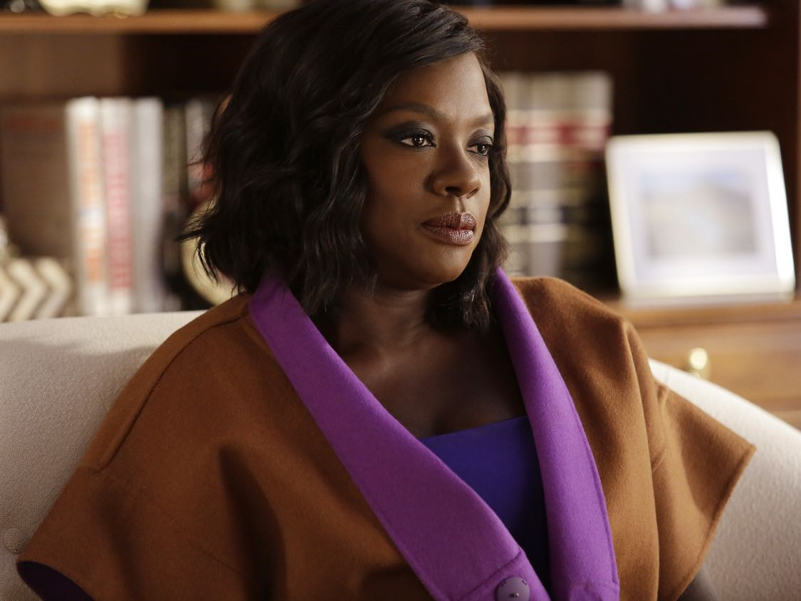"""HOW TO GET AWAY WITH MURDER - """"There Are Worse Things Than Murder"""" - With her job on the line, Annalise fights back against the Middleton University Board. Meanwhile, secrets are exposed as the Keating 5 compete to take on the case of a battered woman accused of murdering her husband, on """"How to Get Away with Murder,"""" THURSDAY, SEPTEMBER 29 (10:00-11:00 p.m. EDT), on the ABC Television Network. (ABC/Nicole WIlder) VIOLA DAVIS"""