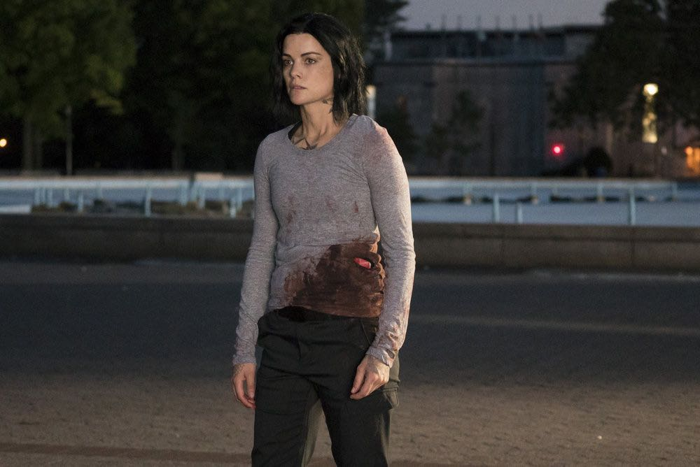BLINDSPOT -- Episode 201-- Pictured: Jaimie Alexander as Jane Doe -- (Photo by: Virginia Sherwood/NBC)