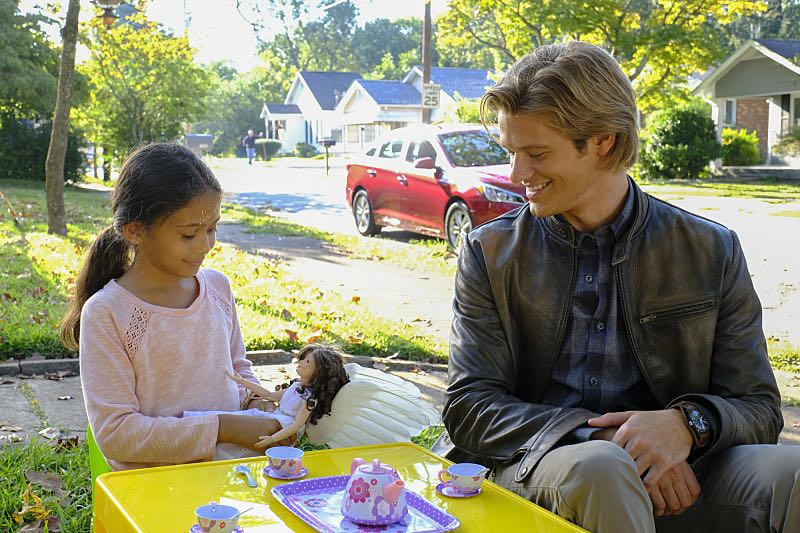 """""""Wrench"""" -- Using only a wrench and rope, MacGyver must diffuse a bomb set near the United Nations by his old nemesis, """"The Ghost"""" (Niko Nicotera), a notorious criminal whose work killed his mentor, and track him down before he strikes again, on MACGYVER, Friday, Oct. 28 (8:00-9:00 PM, ET/PT) on the CBS Television Network. Pictured: , Lucas Till. Photo: Guy D'Alema/CBS ©2016 CBS Broadcasting, Inc. All Rights Reserved"""