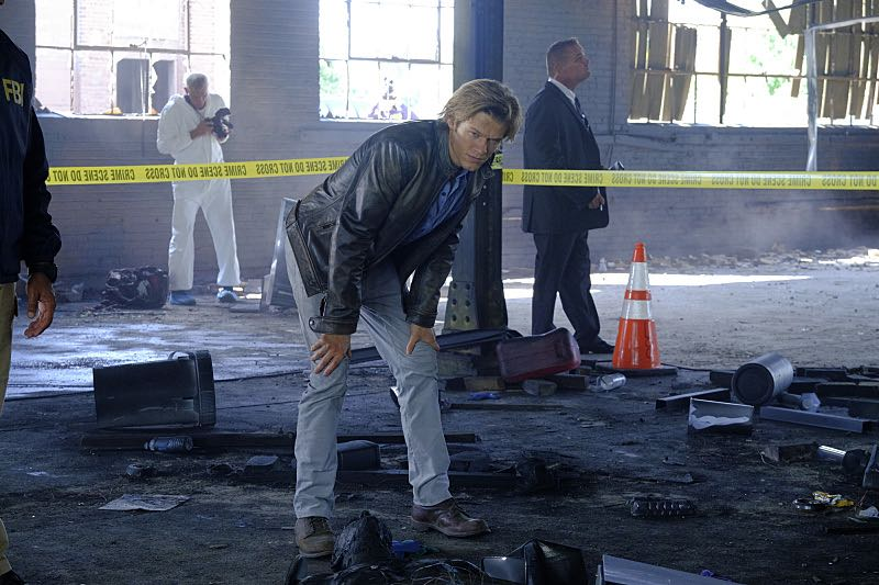 """""""Wrench"""" -- Using only a wrench and rope, MacGyver must diffuse a bomb set near the United Nations by his old nemesis, """"The Ghost"""" (Niko Nicotera), a notorious criminal whose work killed his mentor, and track him down before he strikes again, on MACGYVER, Friday, Oct. 28 (8:00-9:00 PM, ET/PT) on the CBS Television Network. Pictured: Lucas Till. Photo: Guy D'Alema/CBS ©2016 CBS Broadcasting, Inc. All Rights Reserved"""