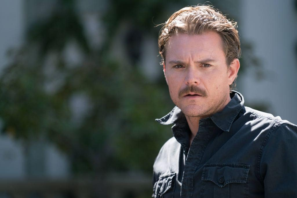 """LETHAL WEAPON: Clayne Crawford in the """"NAME"""" episode of LETHAL WEAPON airing Wednesday, NOV. 2 (8:00-9:00 PM ET/PT) on FOX. ©2016 Fox Broadcasting Co. CR: Michael Desmond/FOX"""
