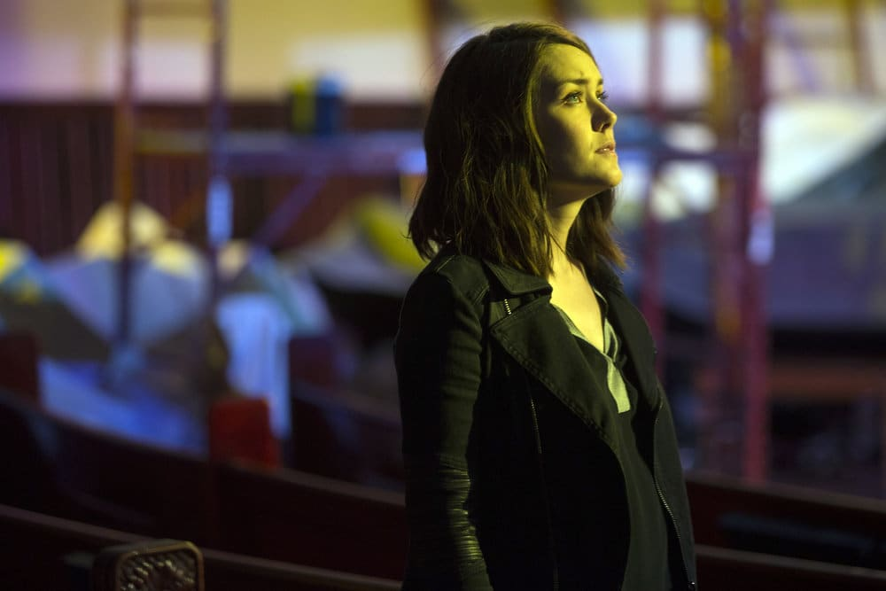 "THE BLACKLIST -- ""The Lindquist Concern #105"" Episode 405 -- Pictured: Megan Boone as Elizabeth Keen -- (Photo by: Eric Liebowitz/NBC)"