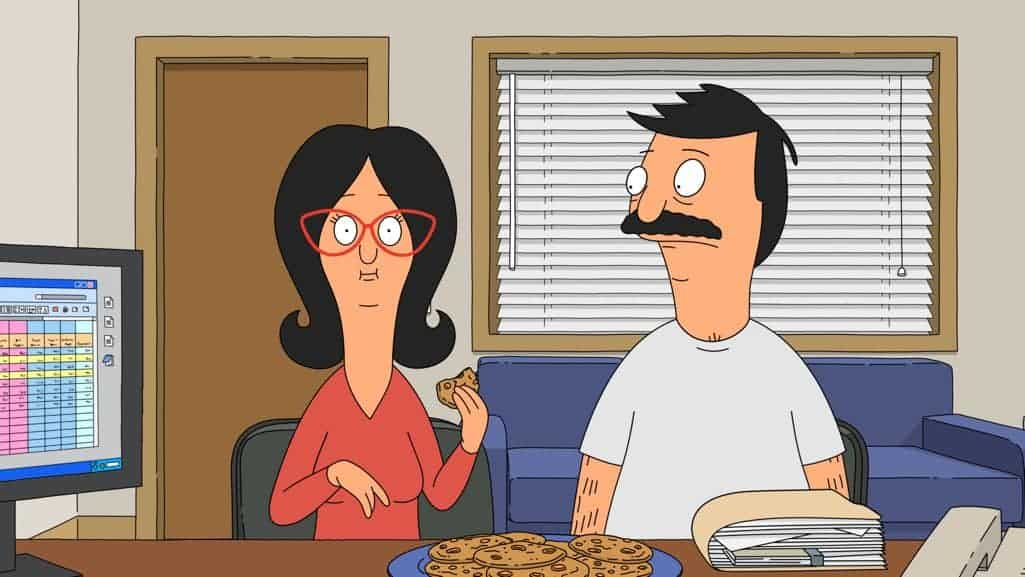 "BOB'S BURGERS: Bob and Linda get into surprising trouble with their accountant in the ""Large Brother, Where Fart Though?"" episode of BOB'S BURGERS airing Sunday, Nov. 20 (7:30-8:00 PM ET/PT) on FOX. BOB'S BURGERS ™ and © 2016 TCFFC ALL RIGHTS RESERVED. CR: FOX"