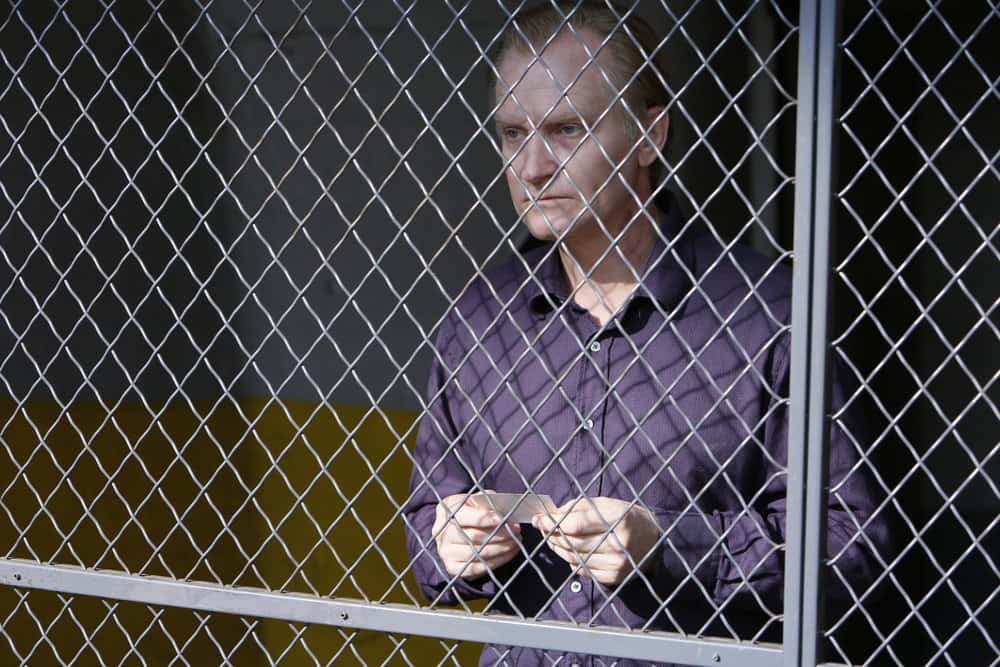 """THE BLACKLIST -- """"Dr. Adrian Shaw (#98): Conclusion"""" Episode 408 -- Pictured: Ulrich Thomsen as Alexander Kirk -- (Photo by: Will Hart/NBC)"""