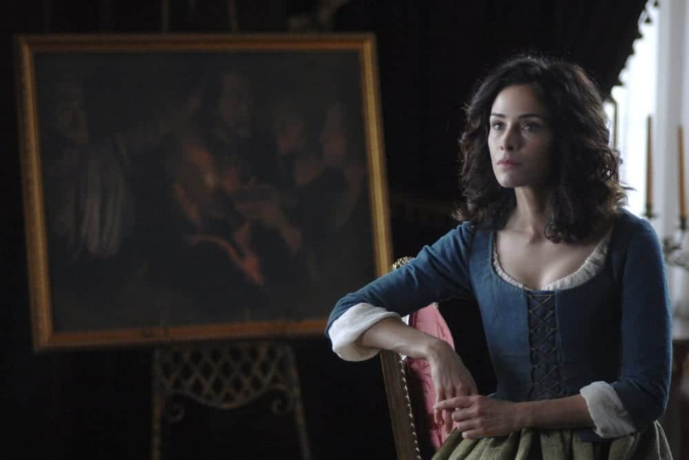 "TIMELESS -- ""The Capture of Benedict Arnold"" Episode 109 -- Pictured: Abigail Spencer as Lucy Preston -- (Photo by: Sergei Bachlakov/NBC)"