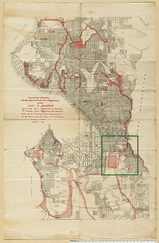 Plan-for-seattlepark-system-1908_with_red