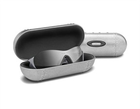 Oakley Large Metal Vault Case - Silver