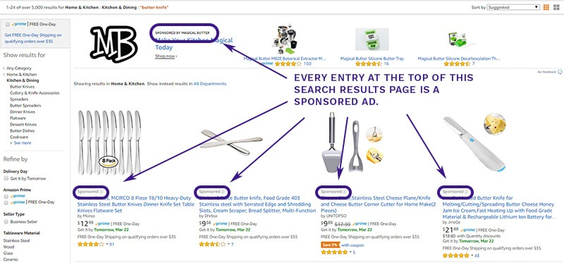 How Amazon Ads look
