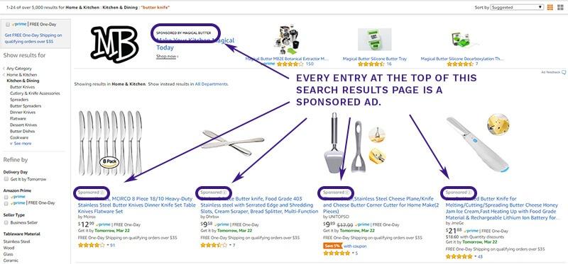 How Amazon Ads look