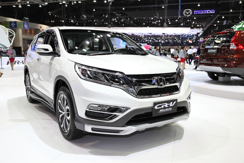 BANGKOK - November 28: Honda CR-V Modulo car on display at The M