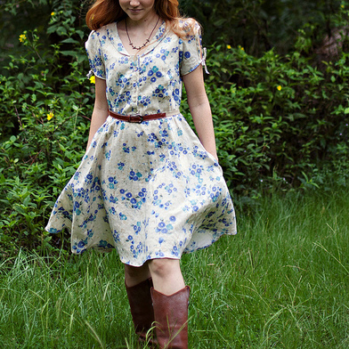 Clara Dress Sewing Pattern