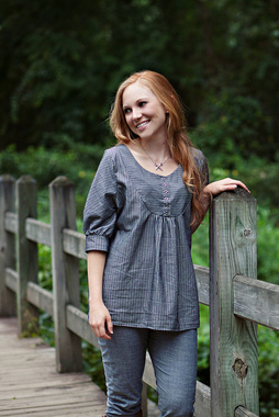 Esme Top Sewing Pattern Photo