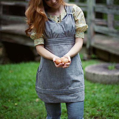 Gathering Apron Sewing Pattern