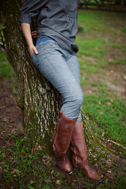 Simple Skinny Jeans Sewing Pattern Photo