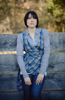Image of Sew Liberated Sunday Picnic Blouse sewing pattern for women.