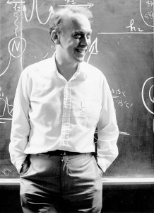 Watson at CSHL in 1969. (Photo: James D. Watson Collection, Cold Spring Harbor Laboratory Archives.)