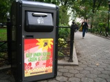 Chinatown Hopes For High-tech Trash Compactor Cans