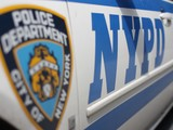 Police Car Slams into Police Van in East Harlem