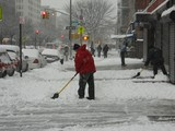 Snow and High Winds Expected as Nor'easter Wallops New York
