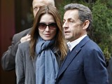 Carla Bruni and Nicolas Sarkozy Stroll in Central Park, Stay at Carlyle, Speak at Columbia