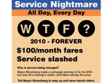 WTF? MTA Nixes Subway Ads Critical of Service Cuts, Michael Bloomberg