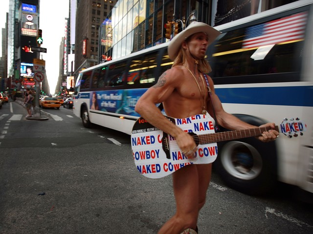 The Naked Cowboy, Robert Burck, has filed numerous lawsuits to protect his brand.