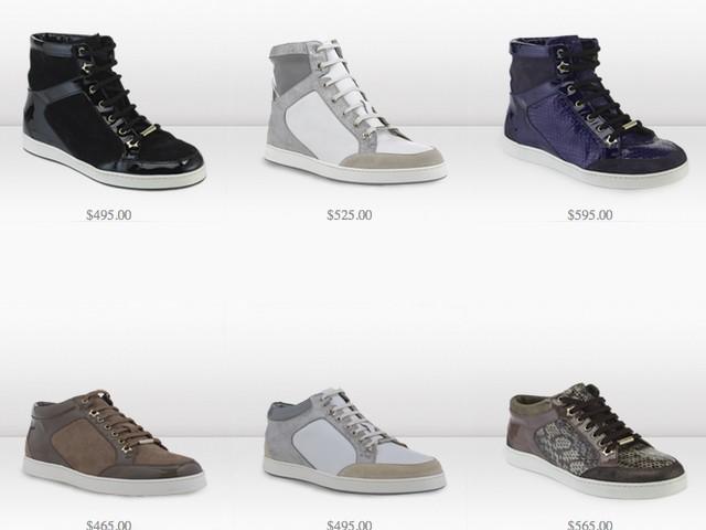Jimmy Choo Debuts $600 Sneaker