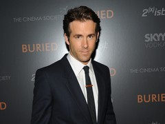 Actor Ryan Reynolds attended the Cinema Society screening of his new film