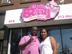 Harlem Gets its First Frozen Yogurt Shop
