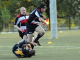 FDNY Beat NYPD in Memorial Rugby Match Honoring Two Men Killed in Iraq