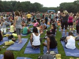 10,000 Yogis Rained Out in Central Park