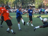 NBA's Best Strap on the Cleats in Steve Nash's Chinatown Soccer Match