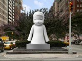 Japanese Pop Artist Yoshitomo Nara's 12-Foot Sculptures Ready for Park Avenue